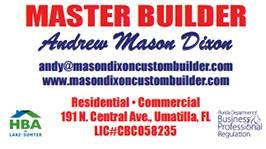 Mason Dixon Custom Builder Images